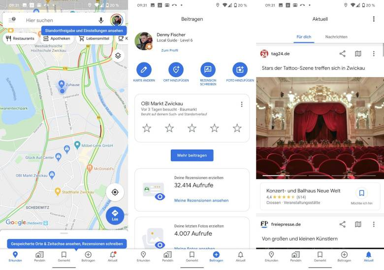 Google Maps App Update Februar 2020