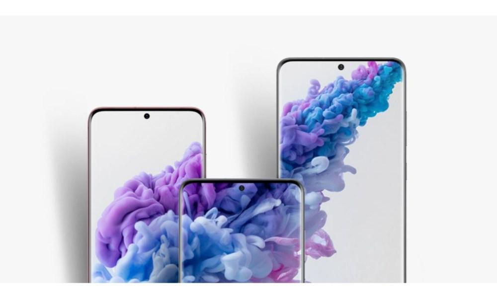 Samsung Galaxy S20 Display Header
