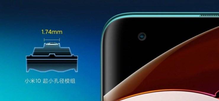 Xiaomi Mi 10 Frontkamera