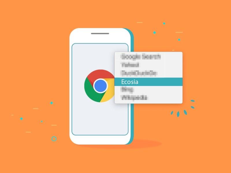 Chrome Ecosia