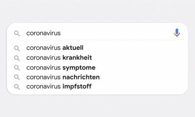 Google Suche Coronavirus