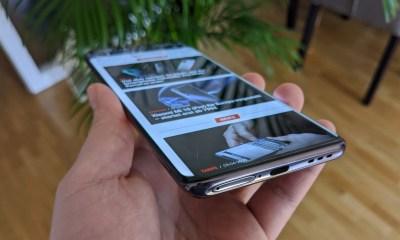 Oppo Find X2 Pro Test Display Ecke