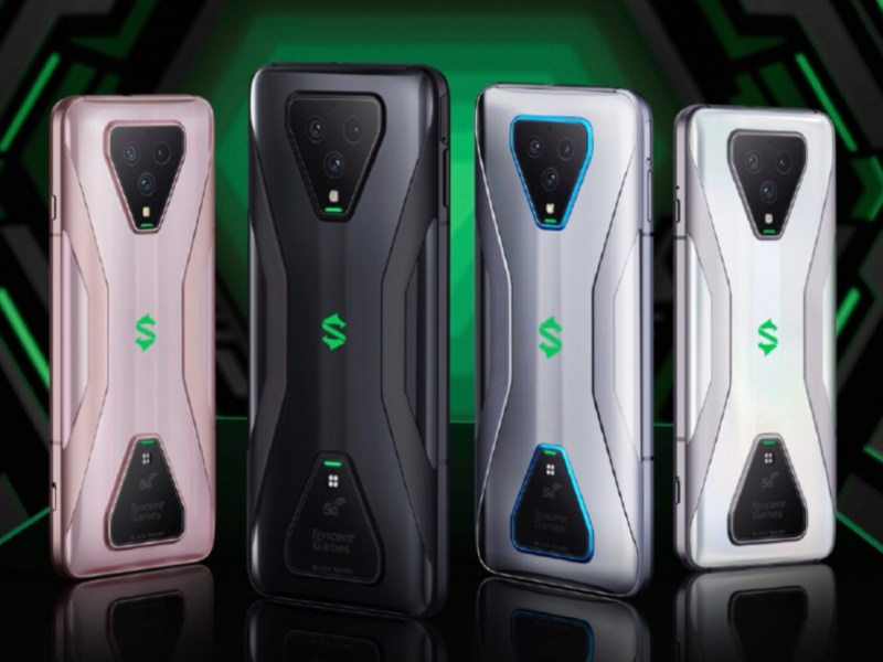 Xiaomi Black Shark 3 Farben