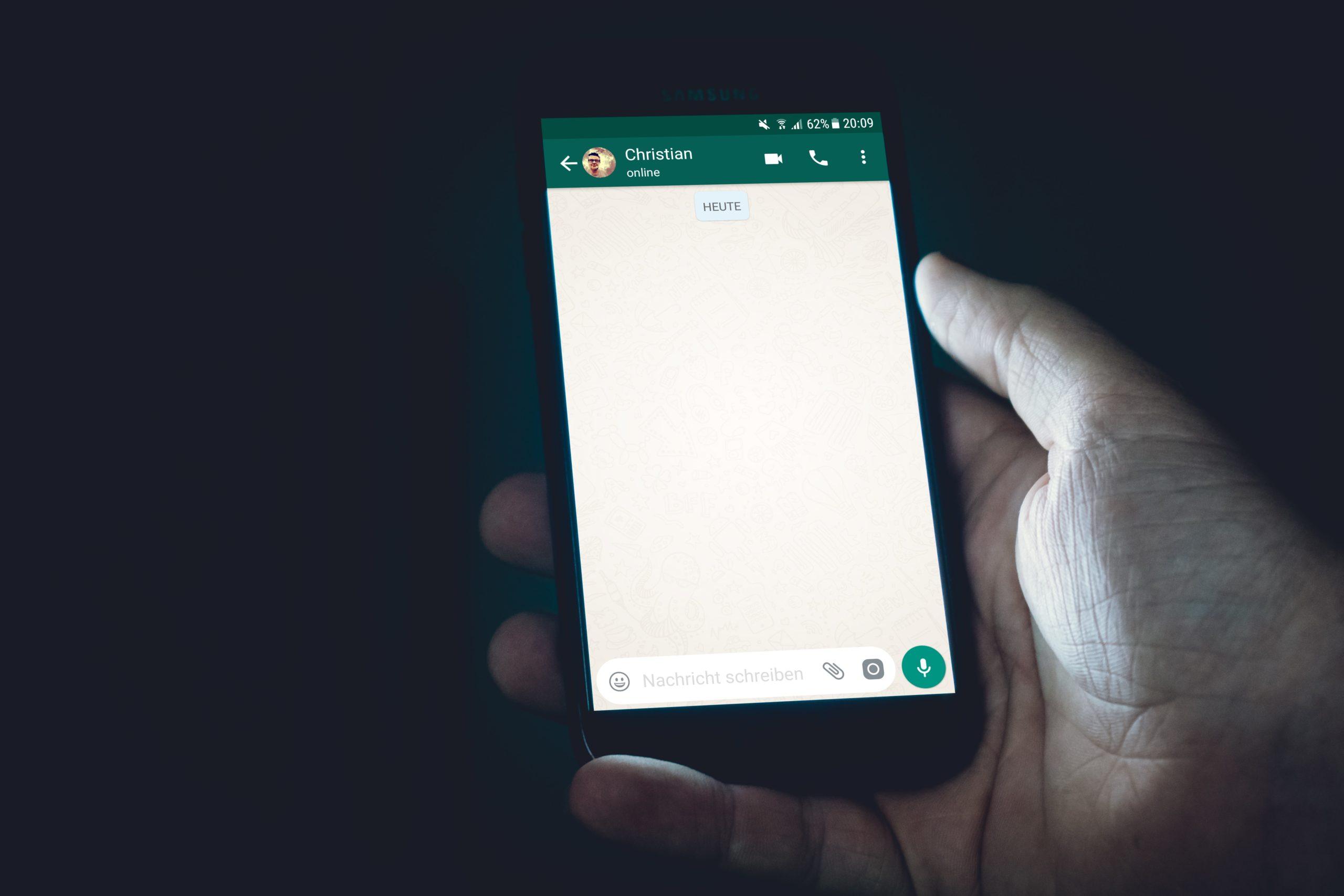 Funktion ist unterwegs: Von Facebook zu WhatsApp schreiben