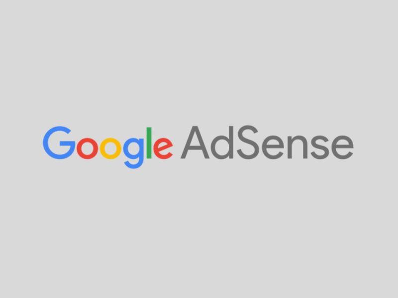Google Adsense Logo Header Grey
