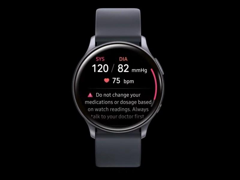 Samsung Blutdruck Messung