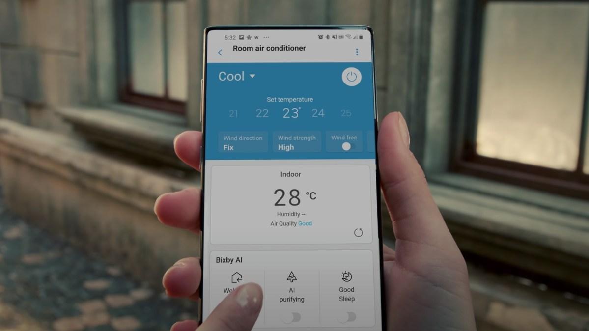 Samsung Smartphone Video Display Ohne Kamera