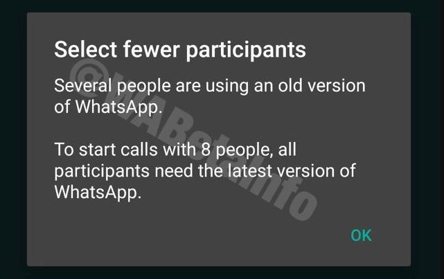 Whatsapp Anrufe 8 Wabetainfo Screenshot
