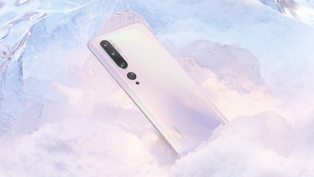 Xiaomi Mi Note 10 Weiss