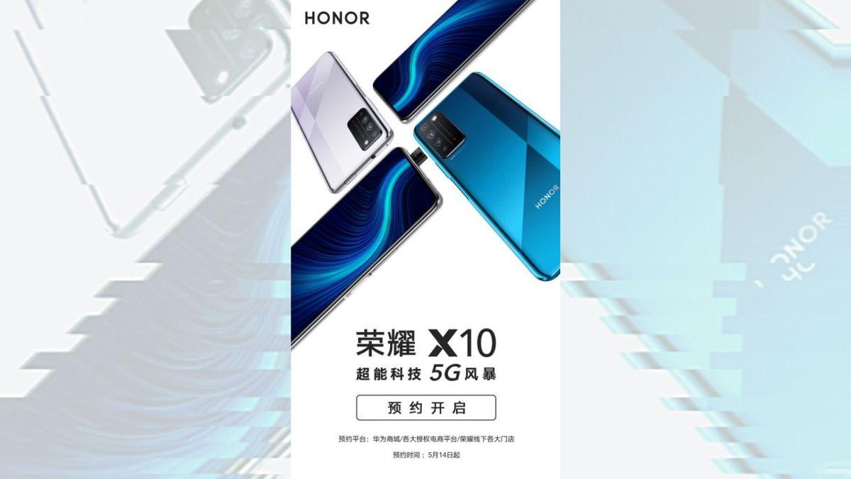 Honor X10 Poster 5g Header