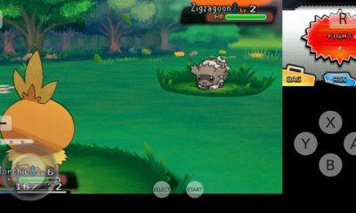 Pokemon Xy Citra Emulator Android App Screenshot