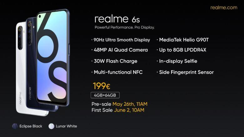 Realme 6s Plakat