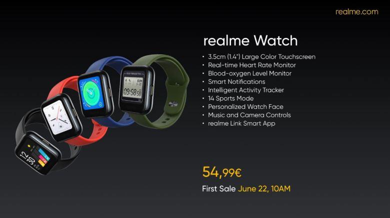 Realme Watch Plakat