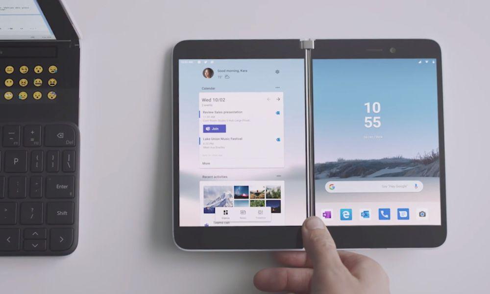 Surface Duo mit Stylus-Verbesserungen für Android