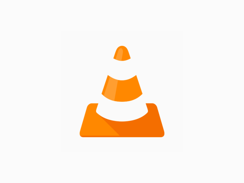 Vlc Android White Logo Header