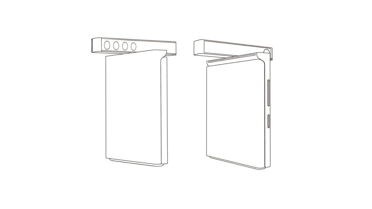 Xiaomi Patent Drehbare Quad Kamera Clamshell Smartphone