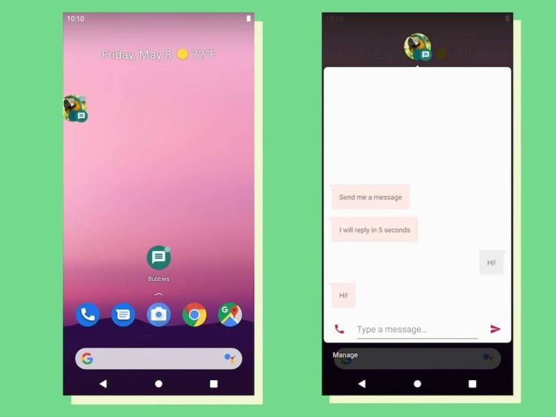 Android 11 Messenger Bubbles (1)
