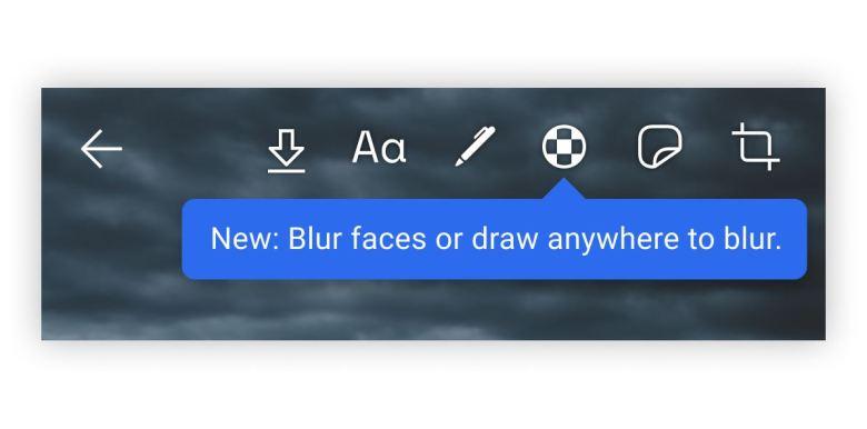 Blur Gesichter Signal 2