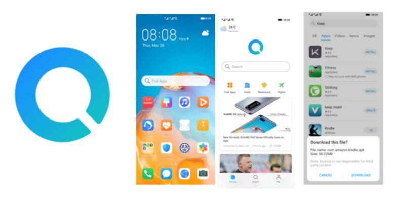 Huawei Suche Widget