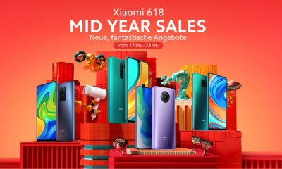 Xiaomi Mid Year Sale 618