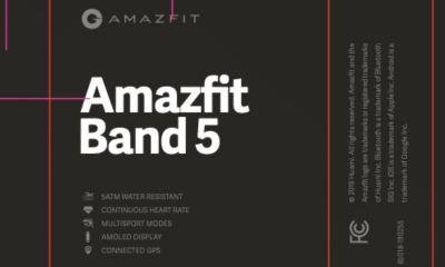 Amazfit Band 5 Fcc Leak
