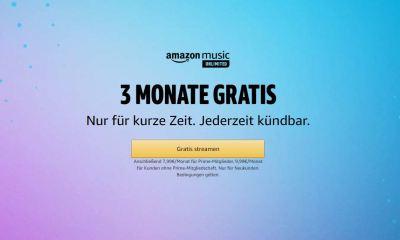 Amazon Music Unlimited 3 Monate Gratis
