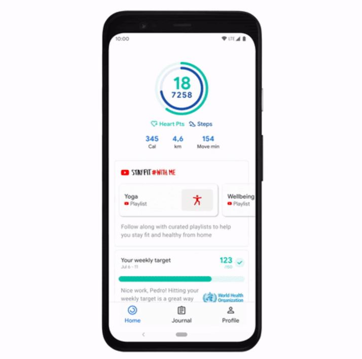 Google Fit Youtube Videos