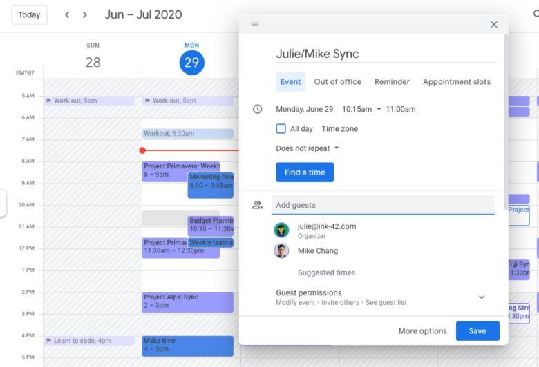 Google Kalender Neues Popup 2