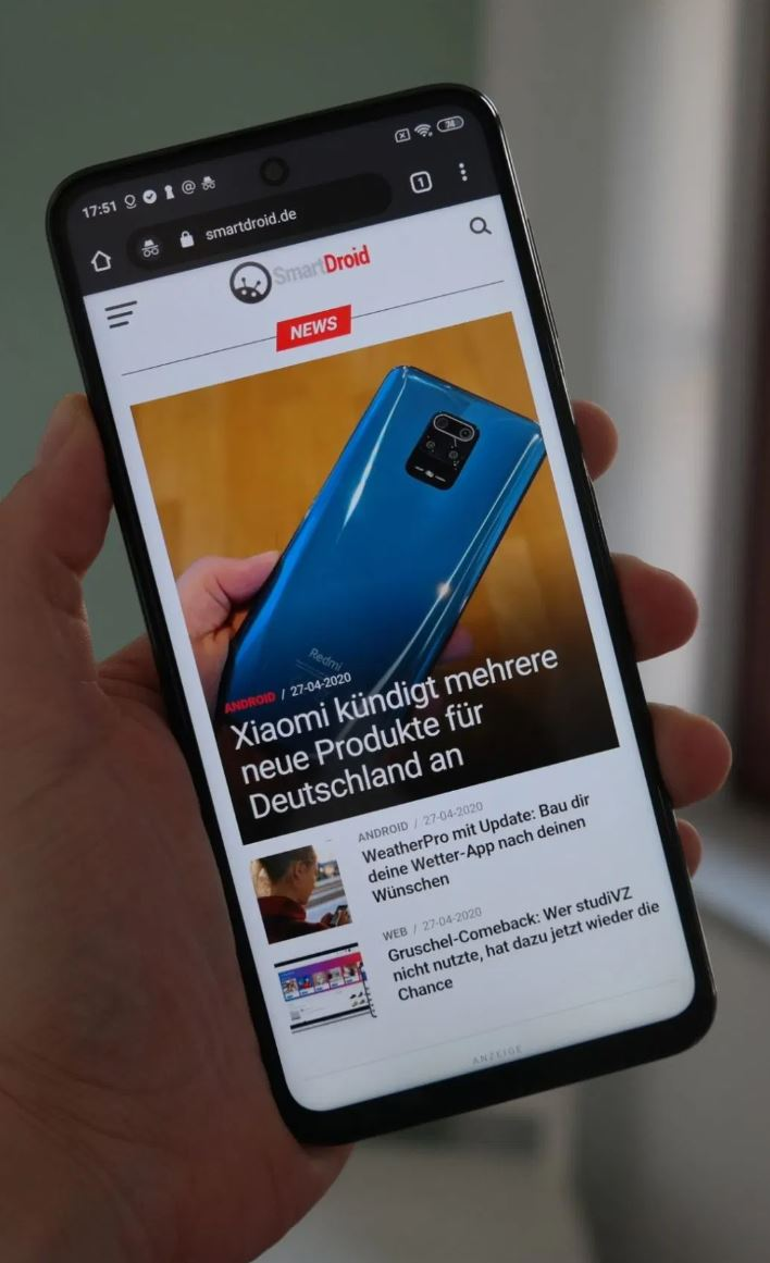 Redmi Note 9s Test Web Storie (1) Display2