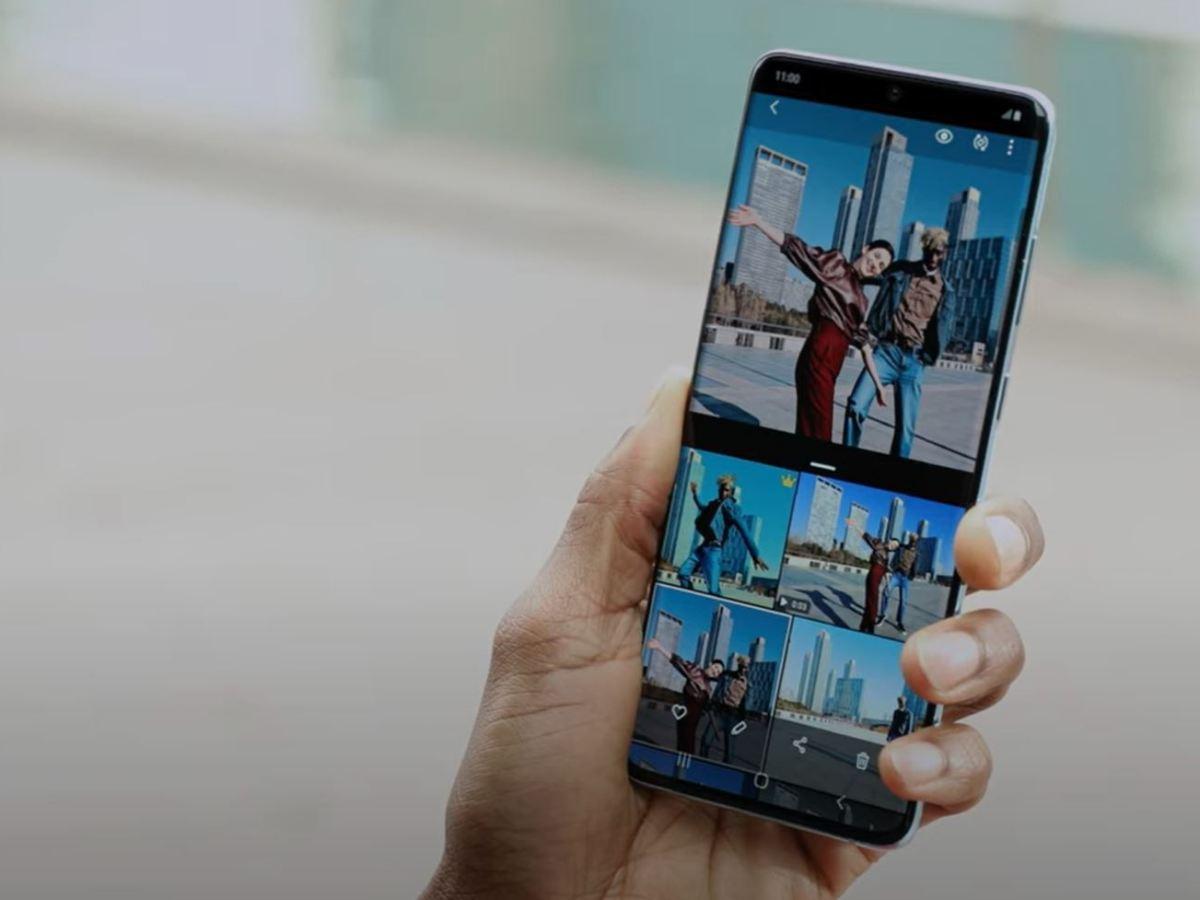 Samsung Galaxy S20 Single Take