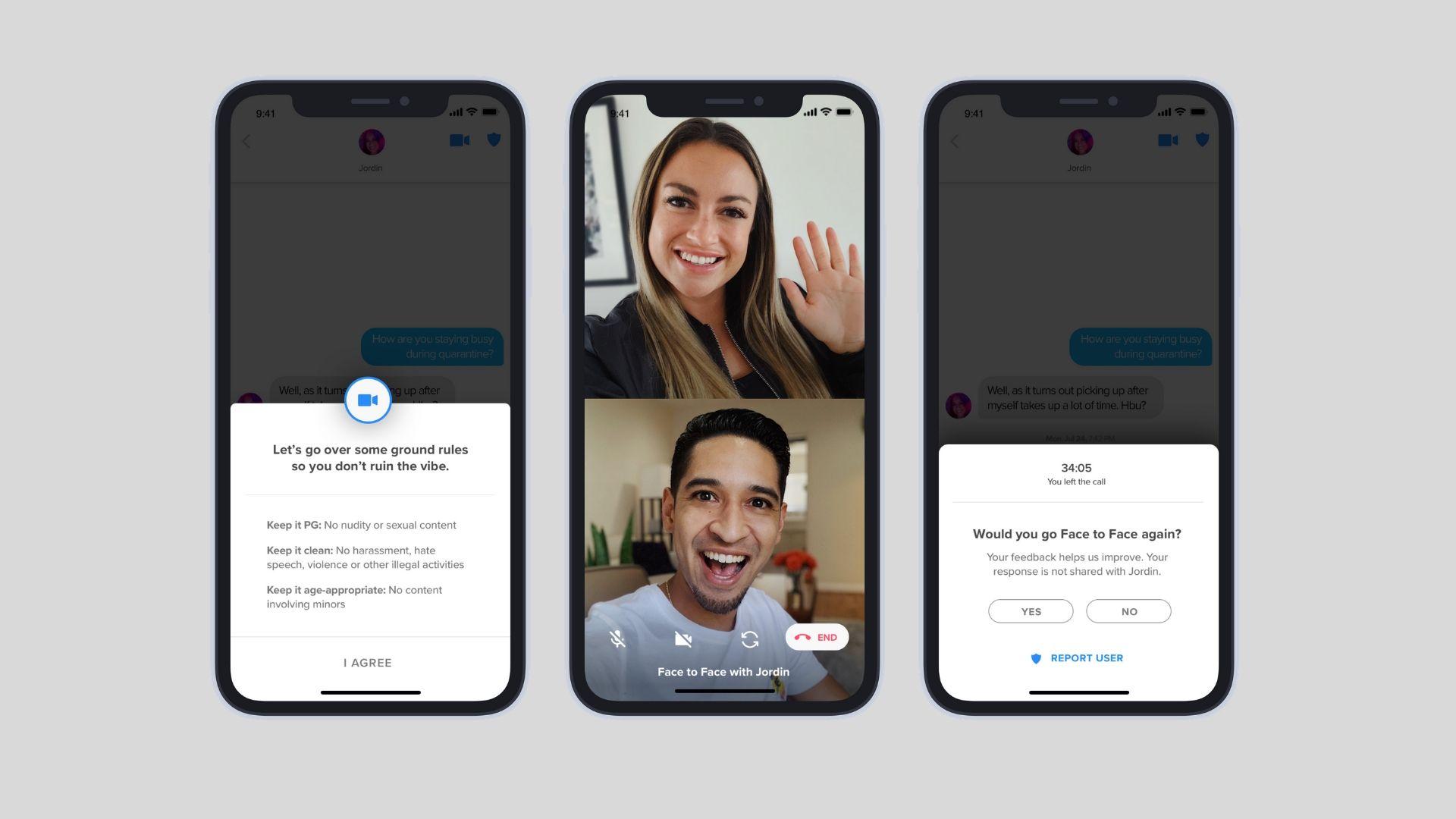 Tinder testet Videochat in ausgewählten Märkten (😏)