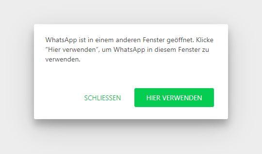 Whatsapp Web Zwei Pcs