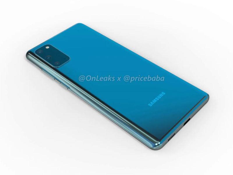 Samsung Galaxy S20 Fan Edition Onleaks