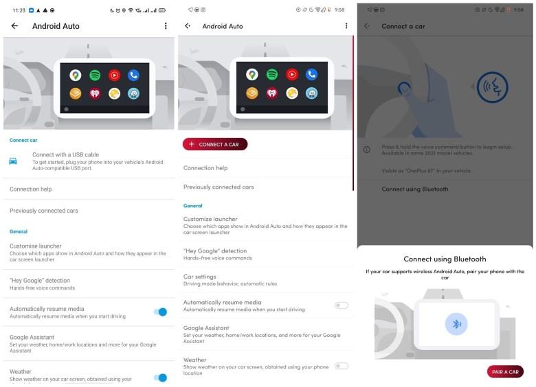 Android Auto Alt Vs Neu Screenshots