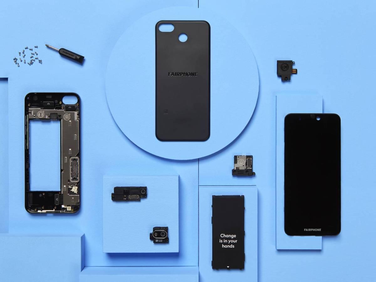 Fairphone 3+ Zerlegt