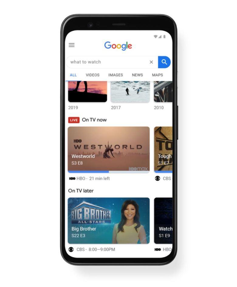Google Suche Tv Empfehlungen