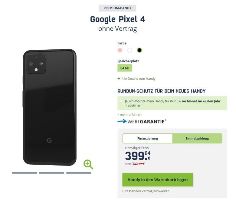 Pixel 4 Preiskracher