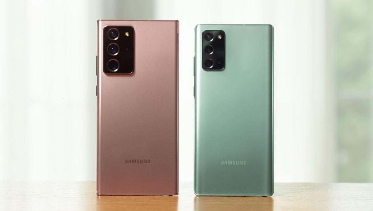 Samsung Galaxy Note 20 Serie Head