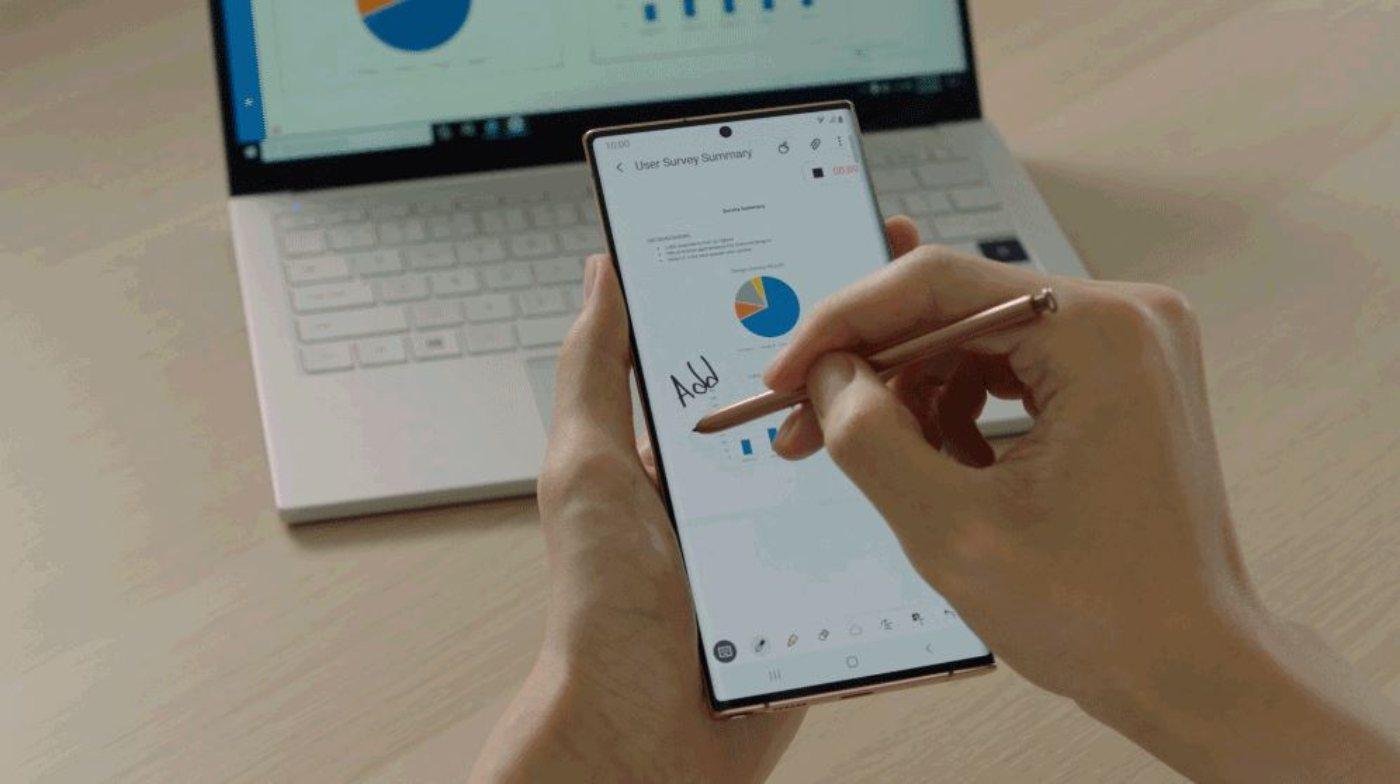Samsung Gestensteuerung