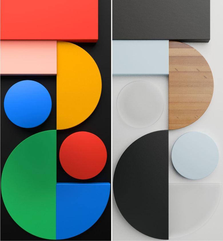 Pixel 5 Wallpaper Nachbau