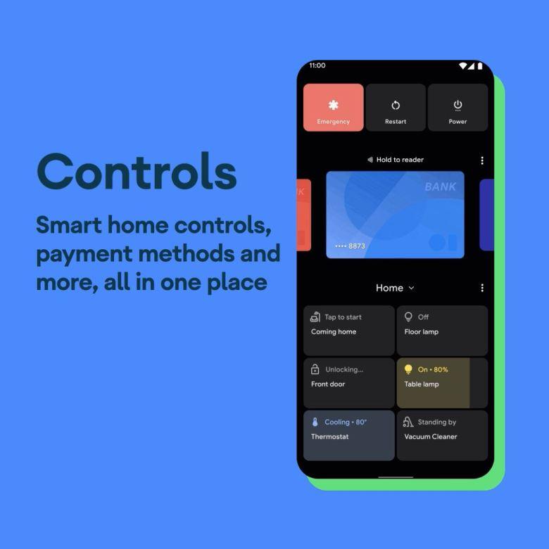 Android 11 Einschaltmenü Mit Smarthome