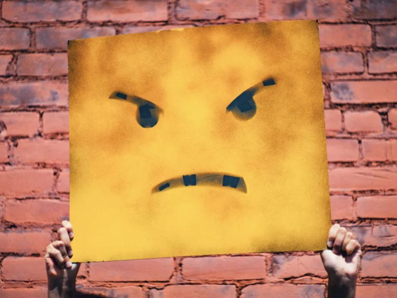 Bad Smiley Head