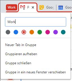 Chrome Desktop Tabgruppen (2)