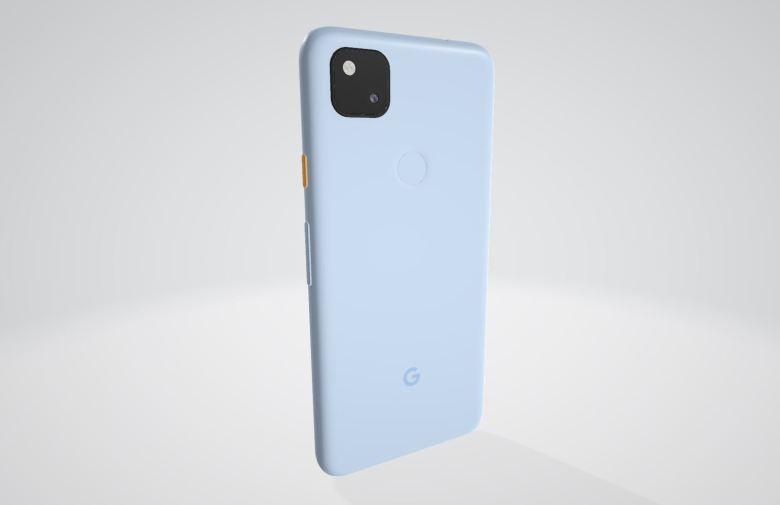 Google Pixel 4a Blau (2)