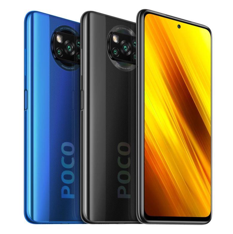 Poco X3 Schwarz Und Blau