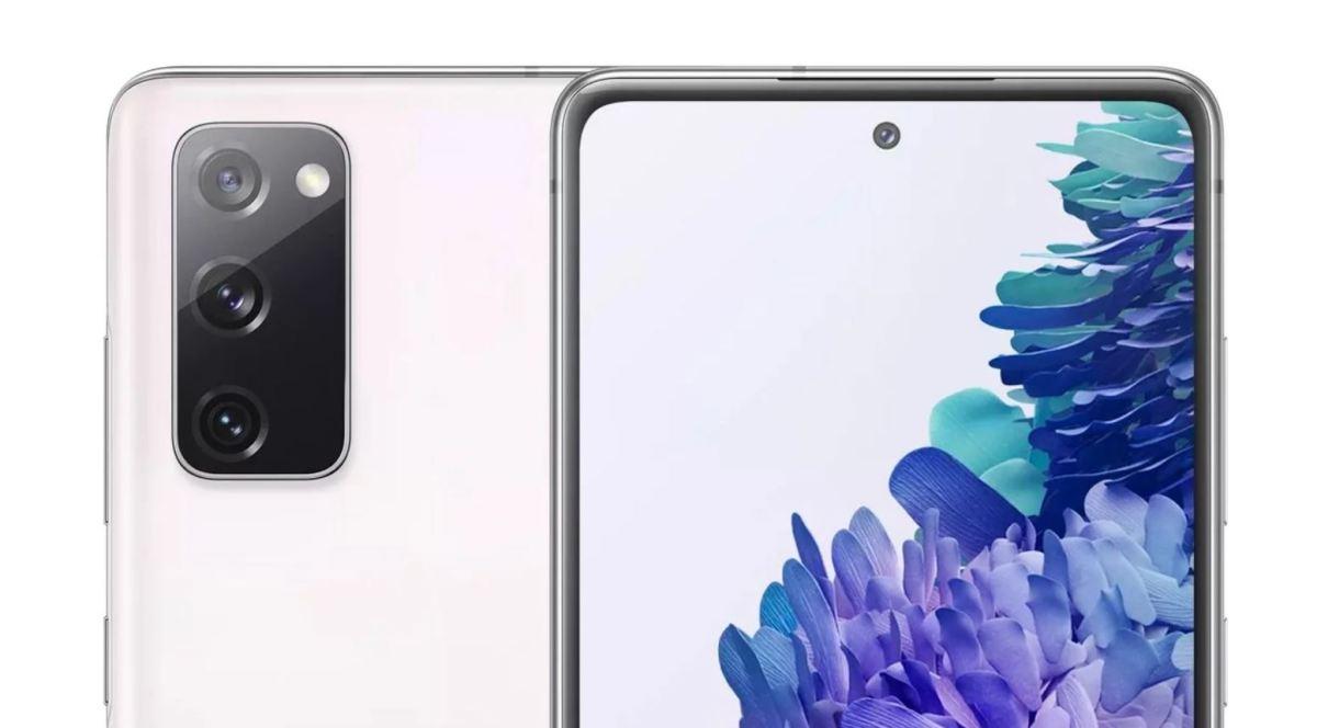 Samsung Galaxy S20 Fe Weiß