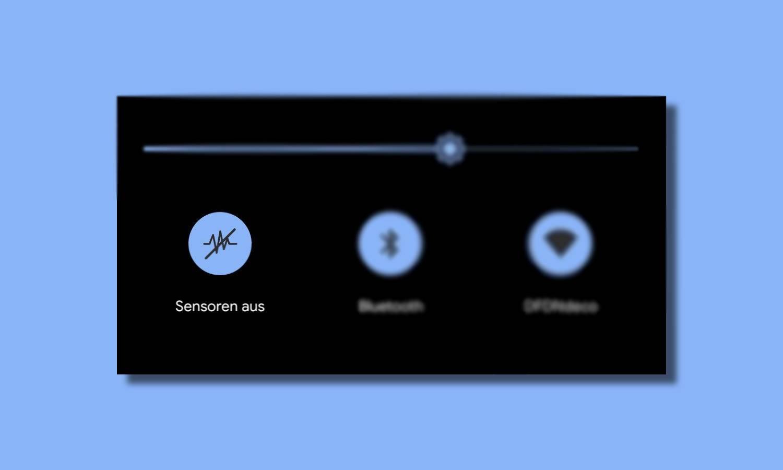 Sensoren Aus Android