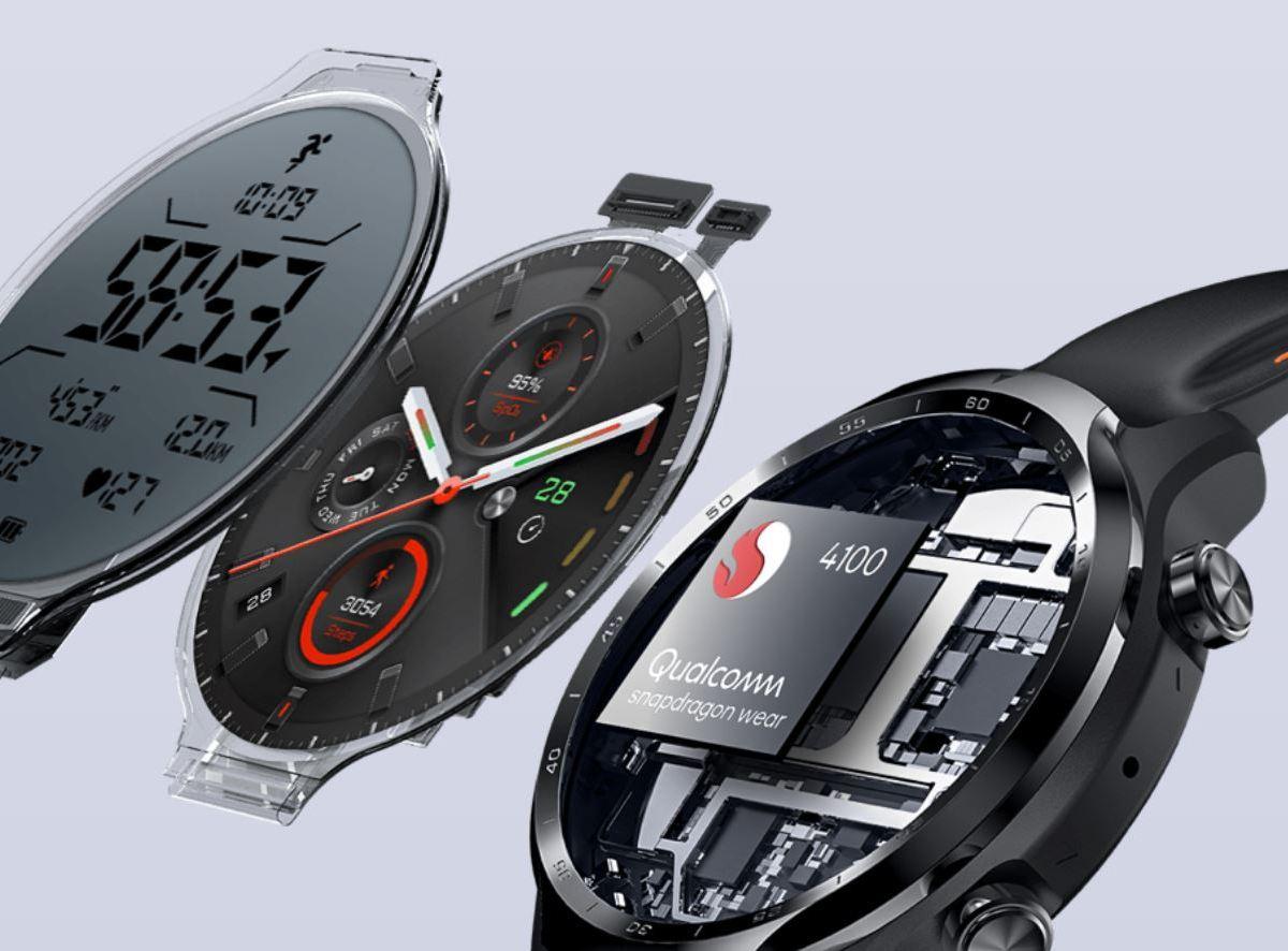 Ticwatch Pro 3 Displays