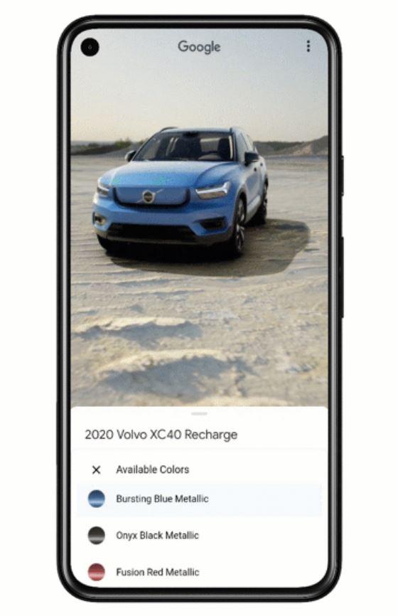 Google Ar Autos
