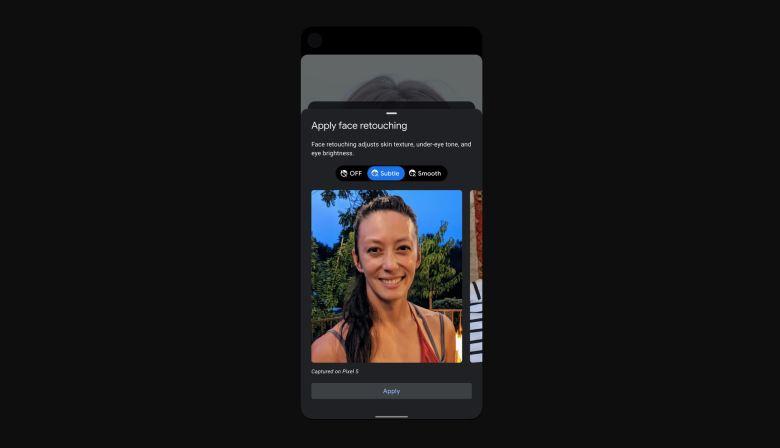 Google Gesichtsretusche Ab Pixel 5 App
